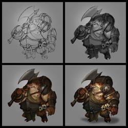 Pig Grunt Process by VisHuS702