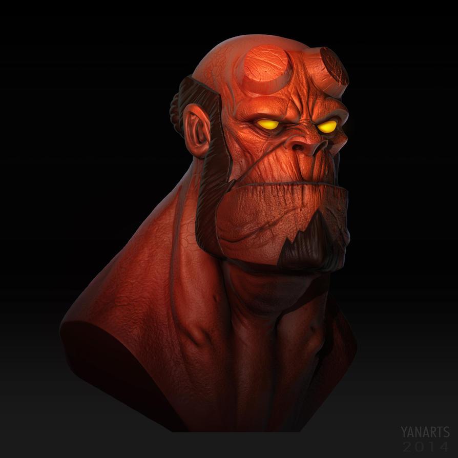 Hellboy by VisHuS702