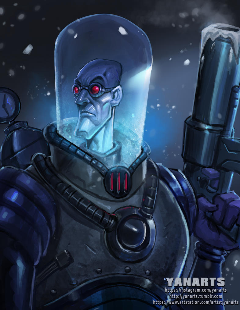 Mr. Freeze by VisHuS702