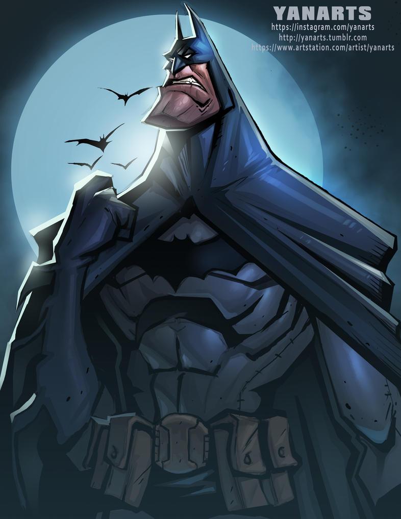 Batman by VisHuS702