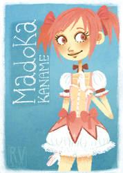 Madoka Kaname. by Flaii-chan