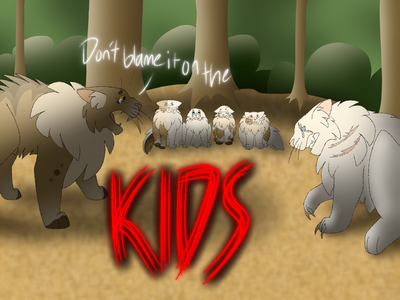 Based On Blame It On The Kids By Aviva By Blizzardtheseal On
