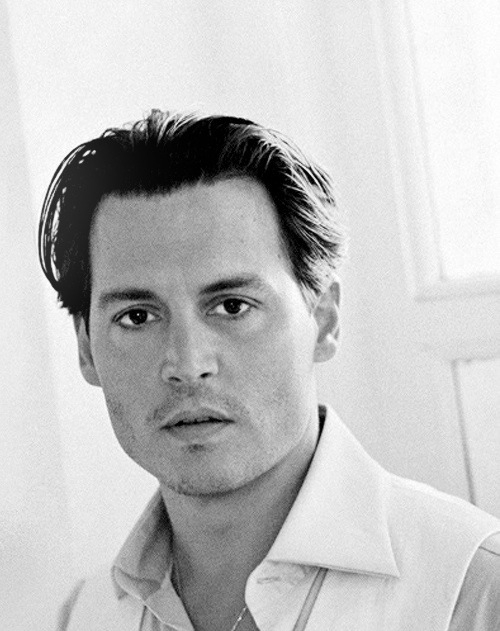 Johnny depp black white gray by mirabelle1990