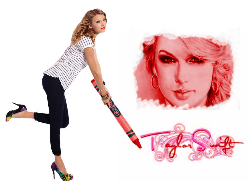 how to draw taylor swift for beginners