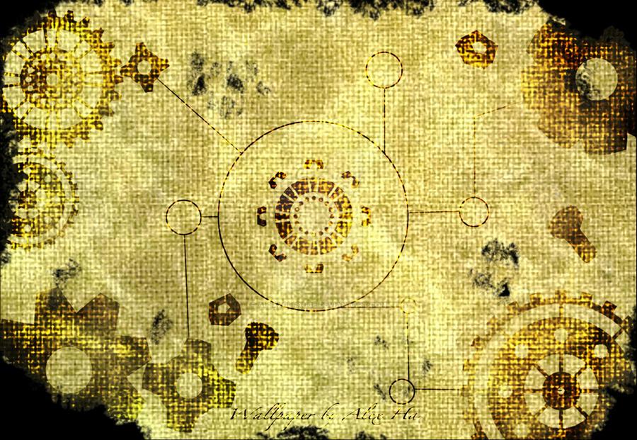 Steampunk Wallpaper By AlexLolSauce