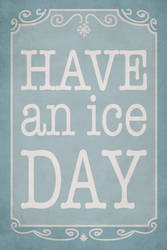 Have an ice day by CharlotteLyng