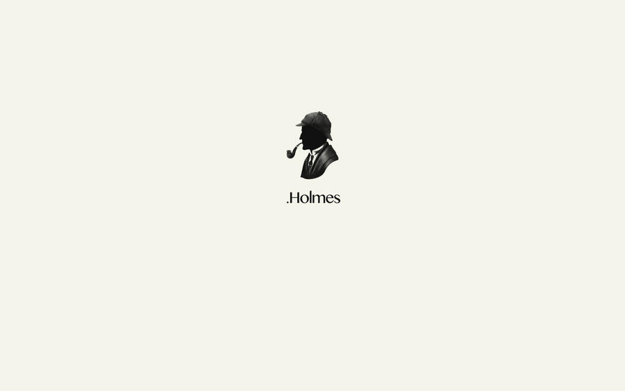 Sherlock holmes minimalist wallpaper by war10ck88 on for Deviantart minimal wallpaper
