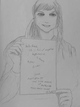 Alison Sudol 'Hello Friend'