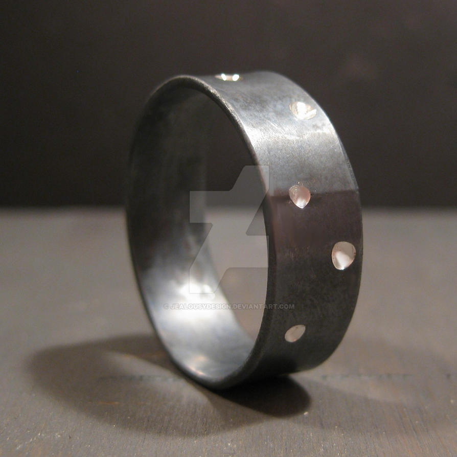Moonland at night ring by Jealousydesign