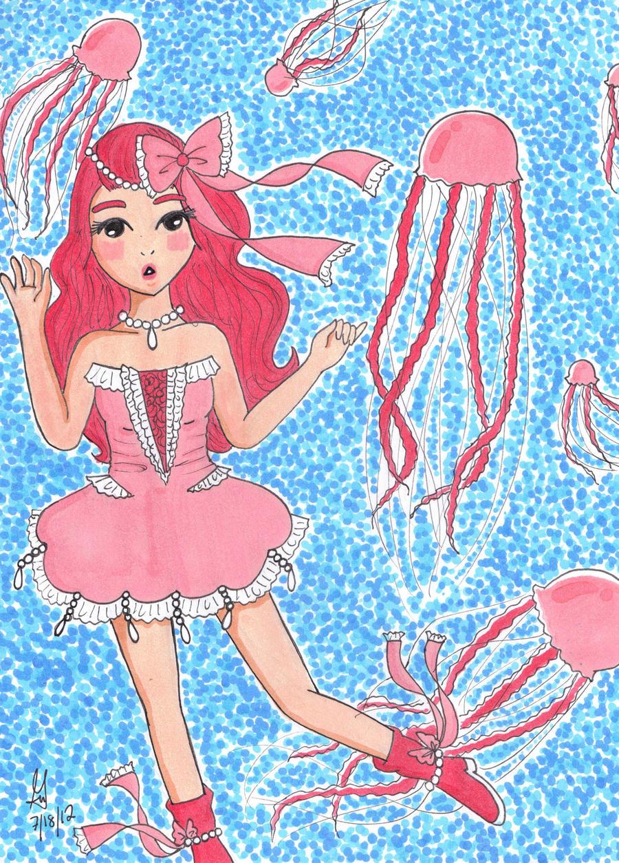 Jellyfish Princess by Gee-94