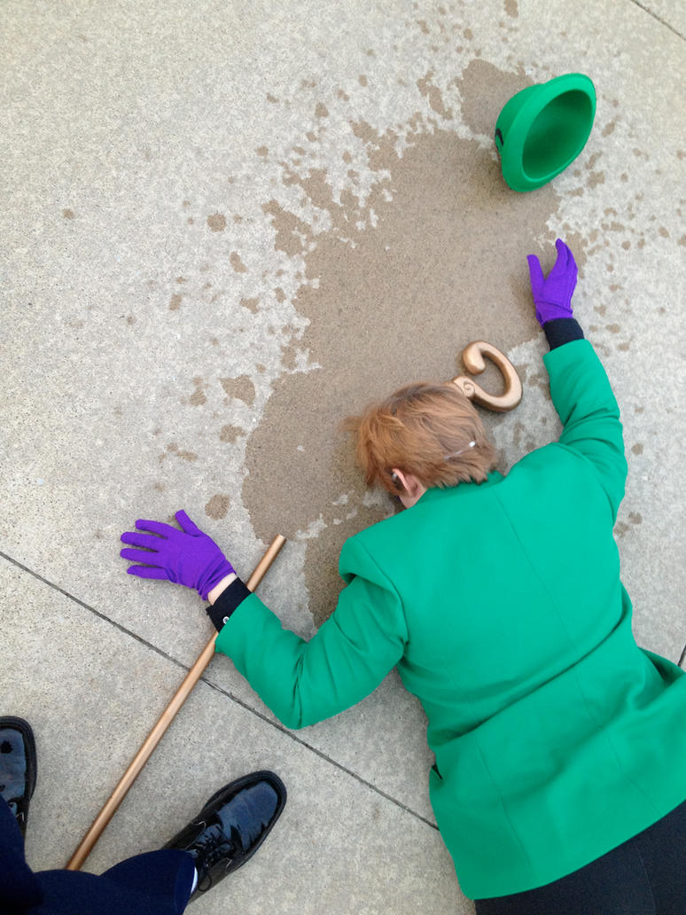 Riddle Answered - Riddler Cosplay by michi-no