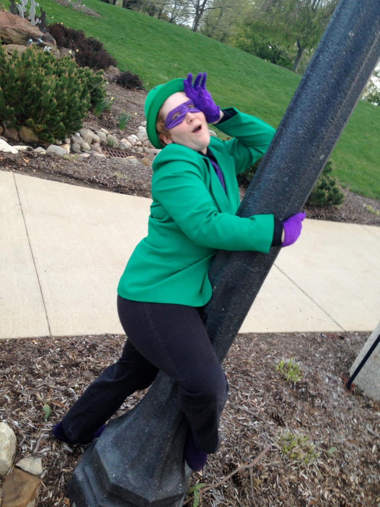 Herp Swoon - Riddler Cosplay by michi-no
