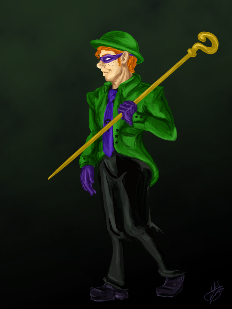 Riddler by michi-no