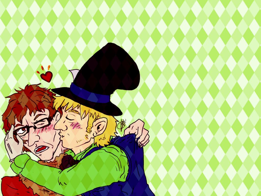 Kissy by michi-no