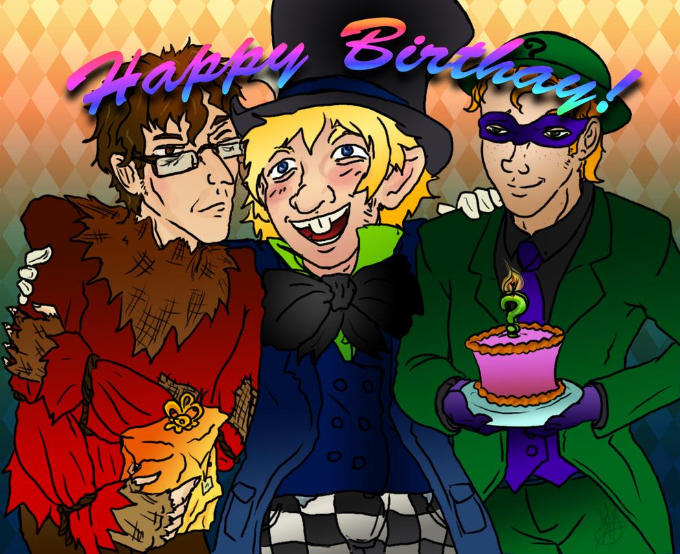 Happy Birthday Whisper-of-Gotham by michi-no