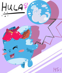 Hula Appears by MagnifiedSun