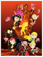 New Mutants by gottabecarl