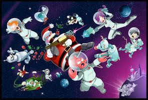 Planet Express X-Mas Battle by gottabecarl