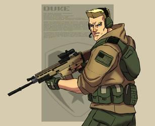 Duke by AnimatedTako