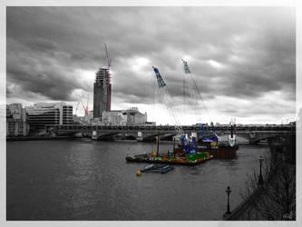 London under construction by vitorhfd