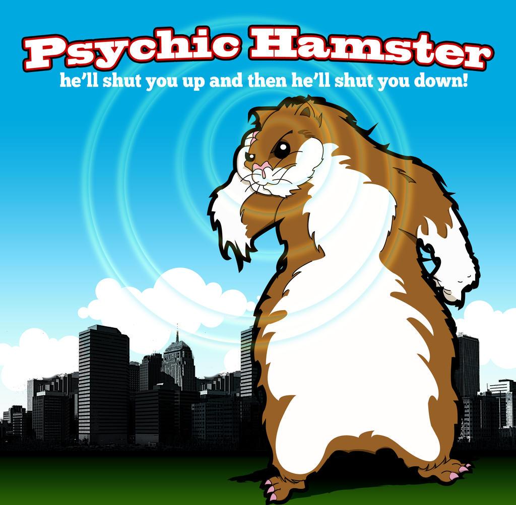 Saul the Psychic Hamster by ajCorza
