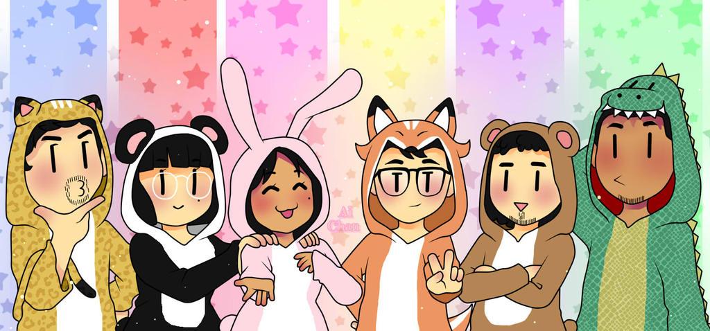 Kigurumi Squad by AiChanchi