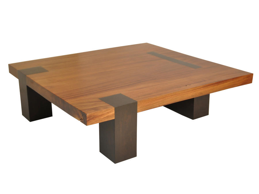 Square Tamburil Coffee Table Walnut Legs By Rotsenfurniture On Deviantart
