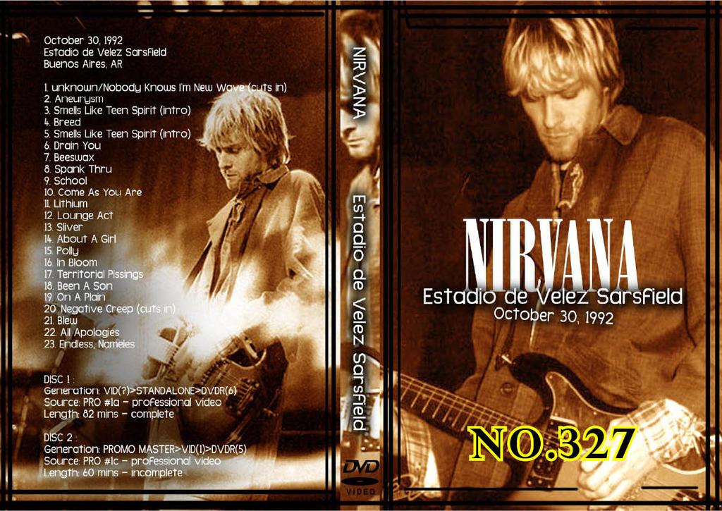Nirvana Live At Reading 1992 By SasukeTheHotty