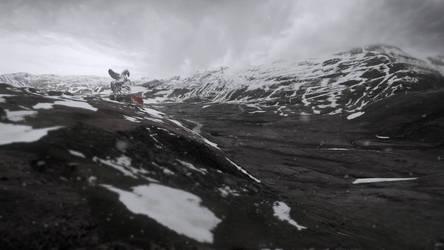 Matte Painting - Snow Landscape
