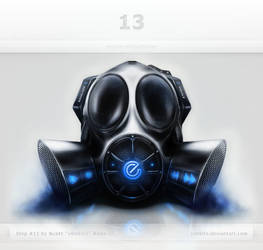 Gas Mask Interface