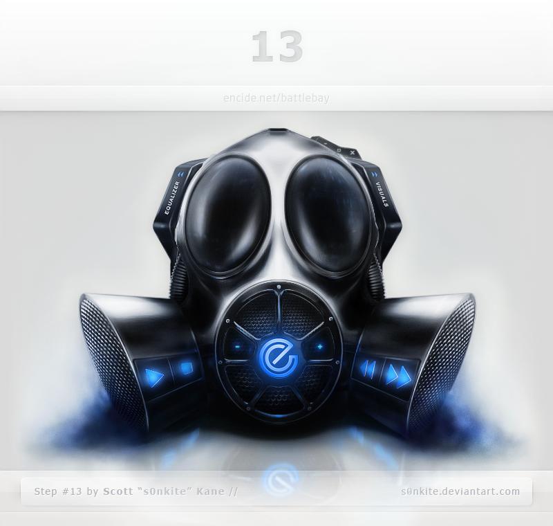 Gas Mask Interface by ScottKaneGUIs