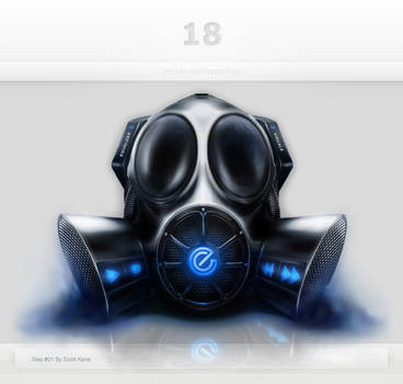 Gas Mask Interface