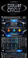 WavesFactory Drumcircle kontakt library gui by Scott-Kane