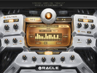 Oracle Hybrid Kontakt Library Gui design by Scott-Kane
