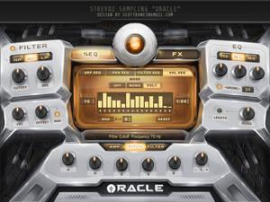 Oracle Hybrid Kontakt Library Gui design