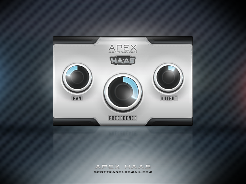 Apex Haa5 Vst gui design by ScottKaneGUIs