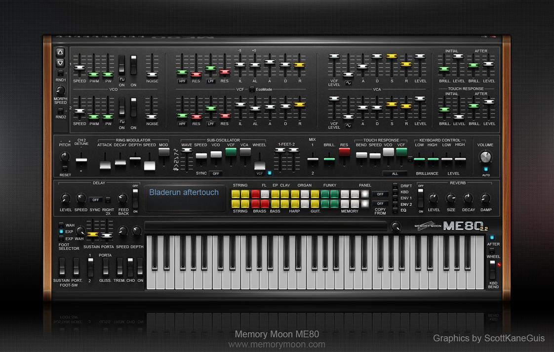 MemoryMoon ME80 by ScottKaneGUIs