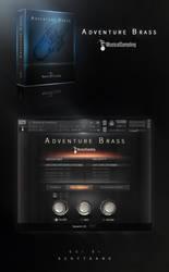 Musical Sampling Adventure Brass Kontakt GUI by Scott-Kane