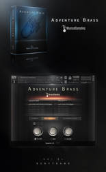 Musical Sampling Adventure Brass Kontakt GUI by Scott-Kane