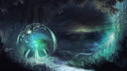 Mystic World by Scott-Kane