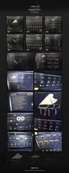 PG - Production Grand Piano, Kontakt Library GUI D by Scott-Kane