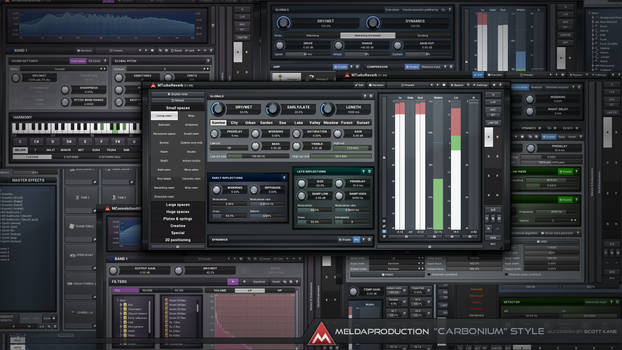 Cabonium Style  Audio GUI Design  Meldaproduction