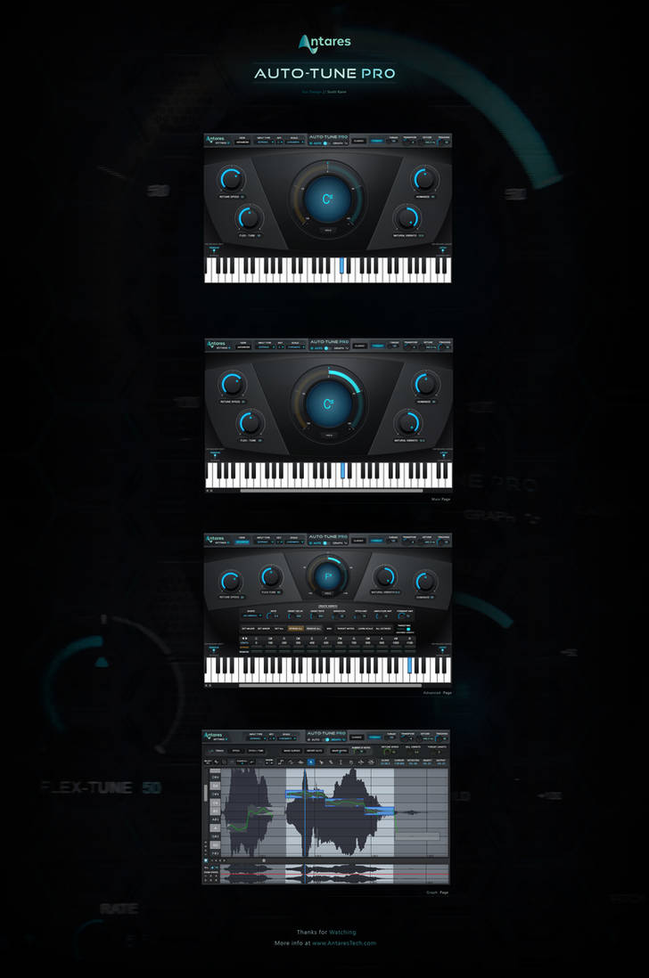 AutoTune-Pro GUI by Scott-Kane on DeviantArt