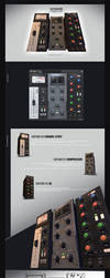 Satson Channel Strip VST plugin Ui Design by Scott-Kane