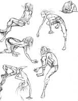 Dynamic Poses by nebluus