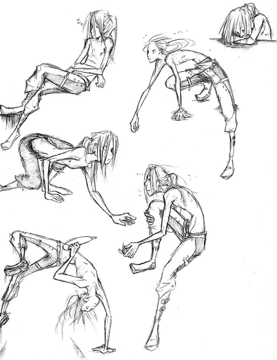 Dynamic Poses by nebluus on DeviantArt - 198.0KB