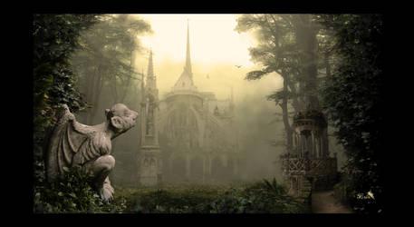 Notre Dame de la Foret by Artbyspirite