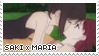 saki x maria stamp by stratosqueer