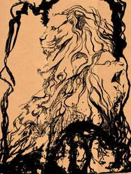 Lion Totem by emrad