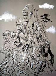 Monkey Totem by emrad